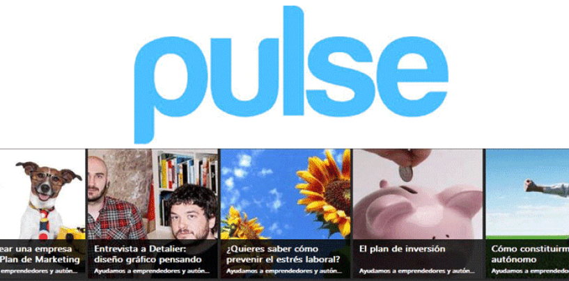 Pulse: un lector de feeds muy visual